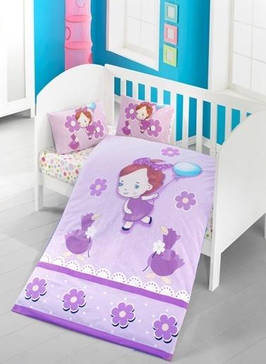 Komfort Home Bebek Uyku Seti %100 Pamuk (Yorgan ve +2 Yastıklı) Renkli